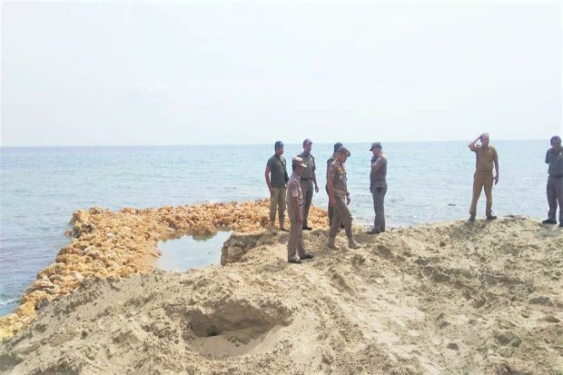 Tim Terpadu Selidiki Aktivitas Reklamasi Pantai di Nias yang Diduga Ilegal
