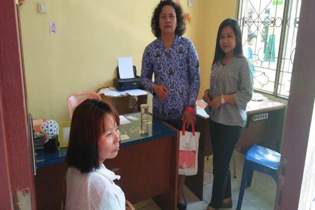 Diduga Aniaya Anak Tiri, IRT Diamankan Polres Simalungun