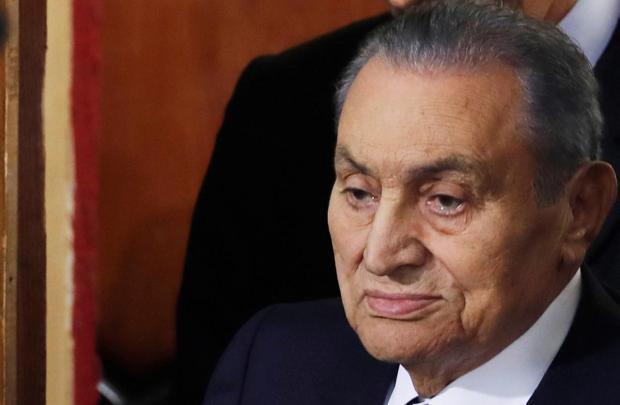 Singa Padang Pasir Mantan Presiden Mesir Hosni Mubarak Tutup Usia