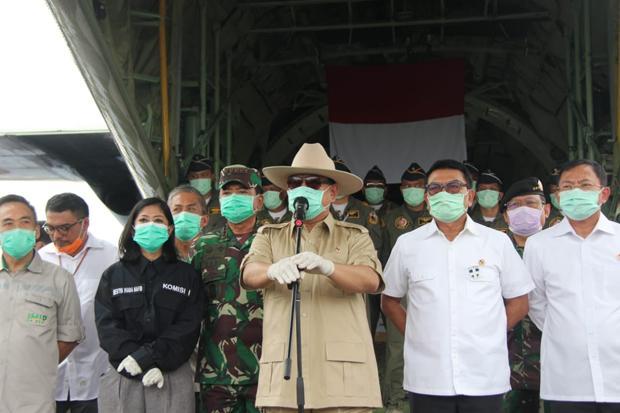 12 Ton Alkes dari China Sudah Datang, Prabowo: Segera Didistribusikan ke RS