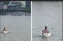 Bocah SD Nekat Seberangi Sungai Gunakan Styrofoam, Ini Penjelasan Pemkab OKI