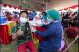 Aglomerasi Surabaya Raya Menuju Level 1, Diperkuat dengan Vaksinasi Merdeka