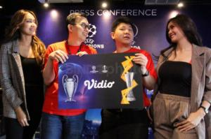 Vidio Resmi Jadi Official Online Broadcaster UEFA Championship League