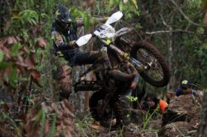 Crosser Afsel Wade Young Menangi Uncle Hard South Borneo Enduro 2019