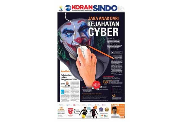 Jaga Anak dari Kejahatan Siber