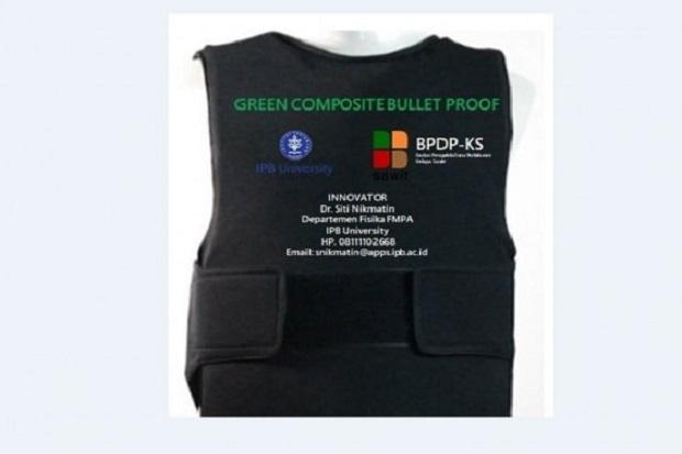 Peneliti IPB Ciptakan Baju Anti Peluru dari Limbah Kelapa Sawit