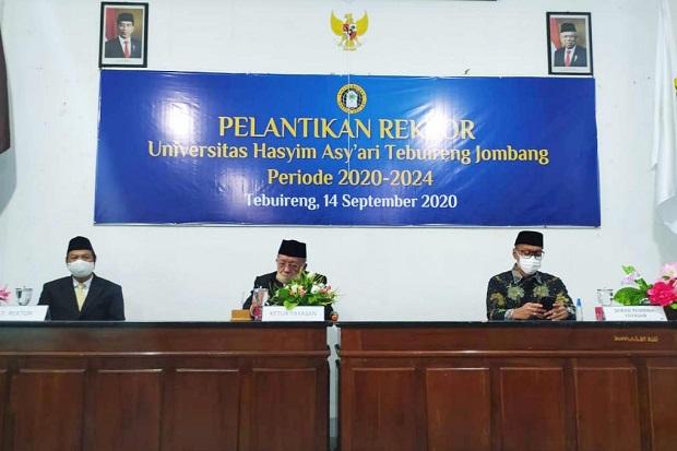 Gantikan Gus Sholah, Prof Haris Dilantik sebagai Rektor Unhasy Tebuireng