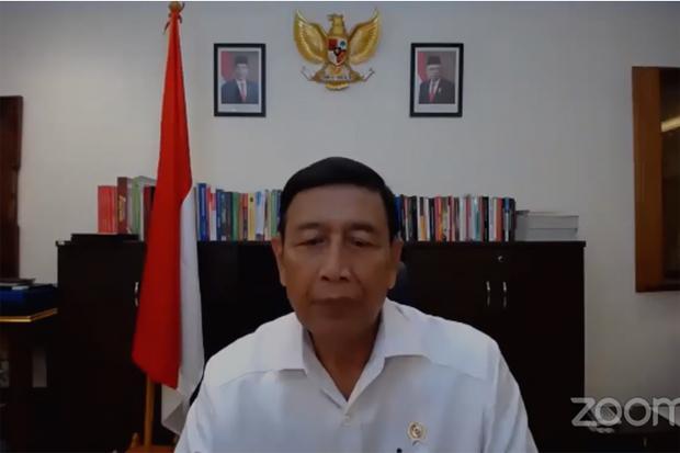 Kuliah Umum PKKMB UNJ 2020, Wiranto Tanamkan 4 Pilar Berbangsa dan Bernegara