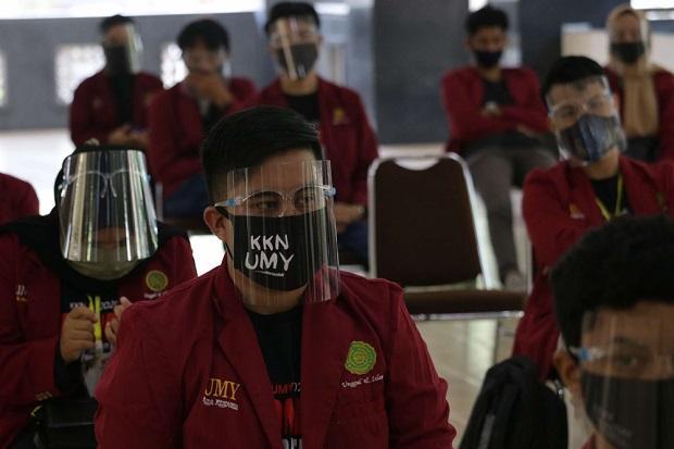 Edukasi Masyarakat, UMY Terjunkan KKN Relawan COVID-19 di Bantul