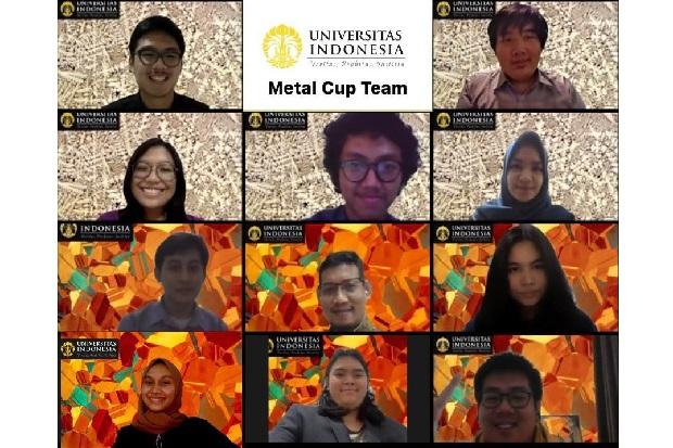 Mahasiswa FTUI Raih Juara Tiga Dunia di Kompetisi Metal Cup 2020