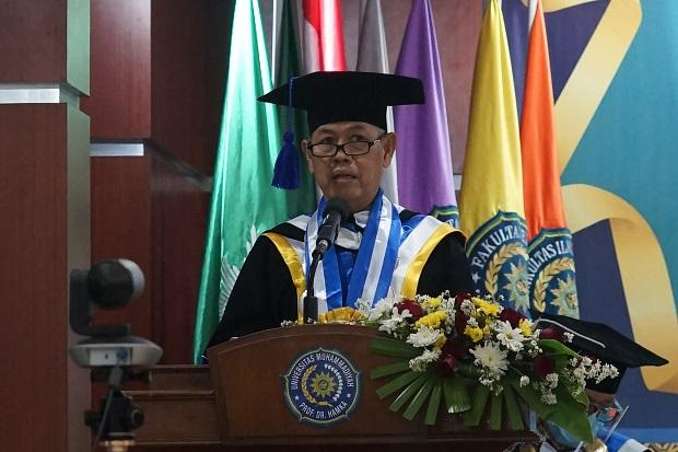 Rektor Uhamka: Jadilah Alumni Pemberi Solusi, Penyejuk dan Penerang