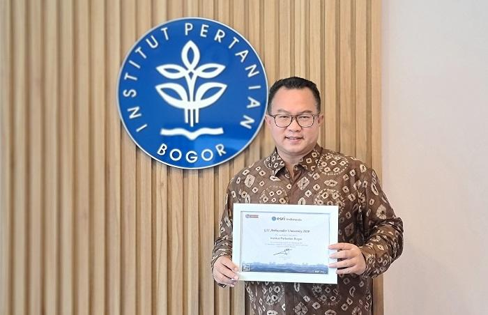 IPB University Terima Penghargaan GIS Ambassador University 2020