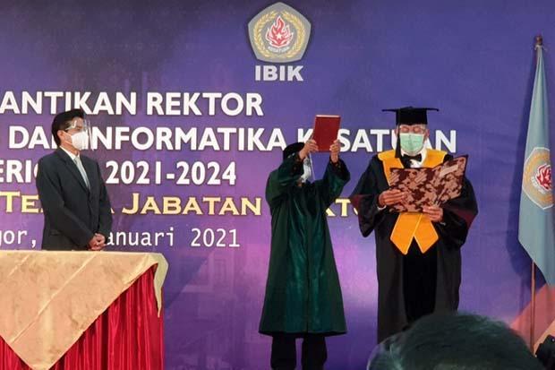 Jabat Rektor IBIK Bogor, Prof Moermahadi Berharap Muncul SDM Berkualitas