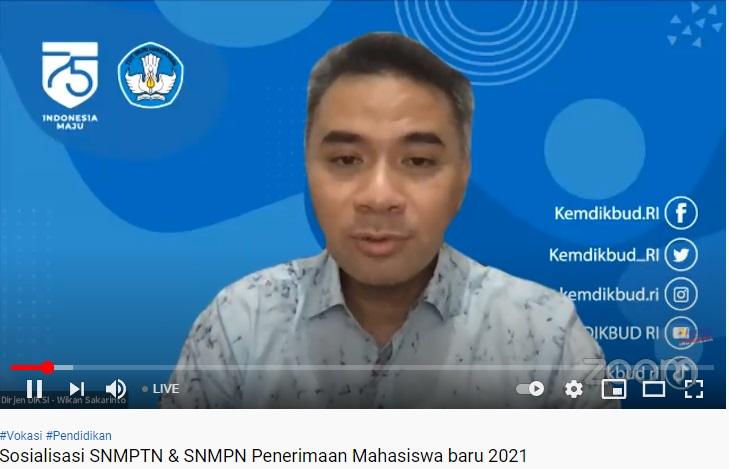 Ingat, Ada 351 Program Studi D4 Bisa Dipilih di SNMPTN 2021