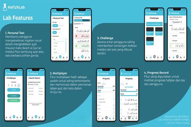 Mahasiswa UI Kembangkan Aplikasi Interaktif Belajar Alquran Game-Based Learning
