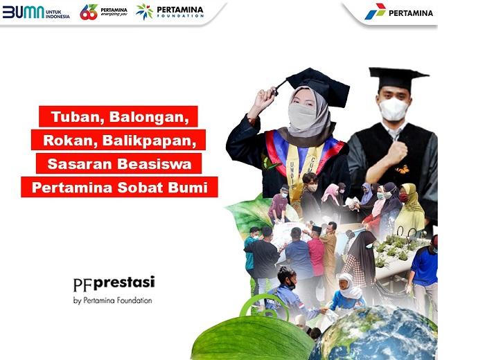 Beasiswa Pertamina Sobat Bumi Sasar Mahasiswa Asal Wilayah Operasi PT Pertamina