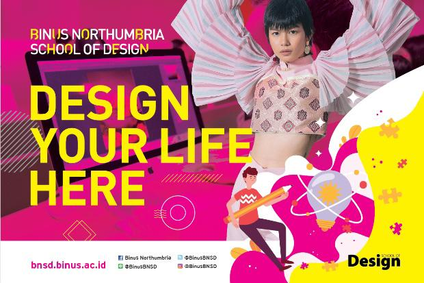 Karya Mahasiswa BINUS Northumbria School of Design Tampil di Paris Fashion Week