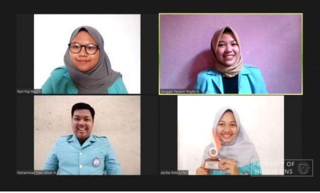 4 Mahasiswa UNS Sabet Juara 1 di Lomba Video Pembelajaran Kreatif