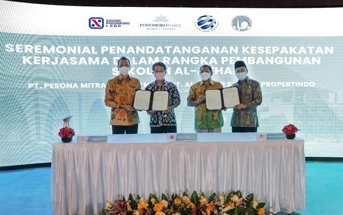 Kembangkan Fasilitas Pendidikan di Bandung, Podomoro Park Gandeng Al Azhar