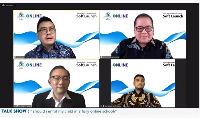 Jawab Tantangan Pendidikan, Sekolah Bina Bangsa hadirkan Sekolah Daring