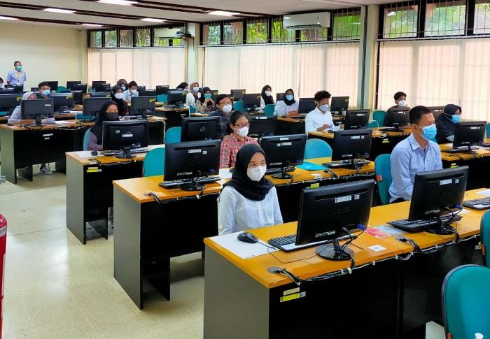 3.628 Peserta Ikuti Pelaksanaan UTBK-SBMPTN Gelombang 2 di UI