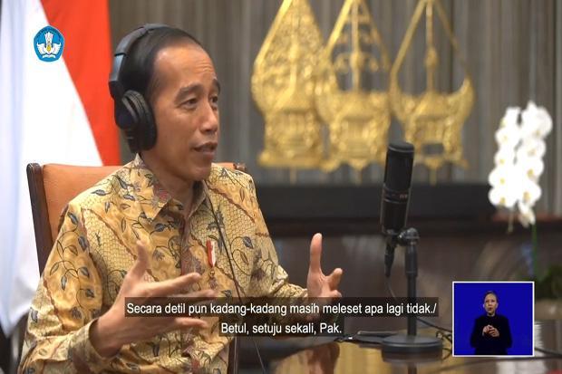 Peringatan Hardiknas, Jokowi: Pendidikan Harus Memerdekakan Rakyat