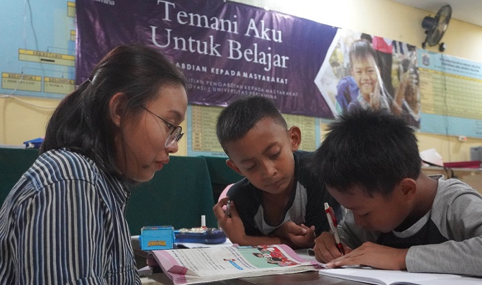 Anak Sulit Akses Buku Bacaan, Universitas Pertamina Hadirkan Perpustakaan Lengkap