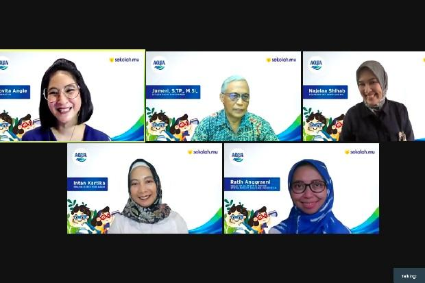 AQUA dan Sekolah.mu Hadirkan Program Belajar Digital bagi Siswa PAUD dan SD