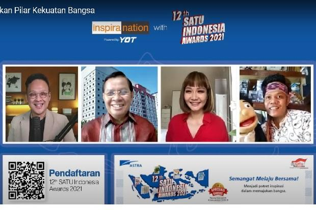 Bangun Pendidikan Bangsa Lewat Inspiranation 12th SATU Indonesia Awards 2021