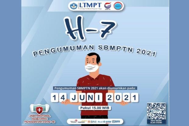 Jelang Pengumuman SBMPTN 2021 , Ini Link Akses Pengumuman