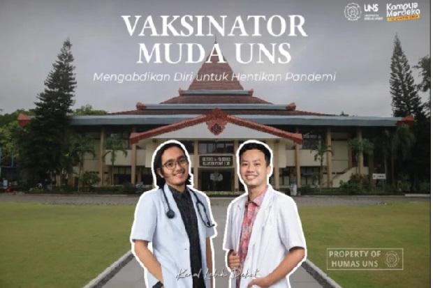 Ini Cerita Thaariq dan Latief, 2 Vaksinator Muda UNS yang Menginspirasi