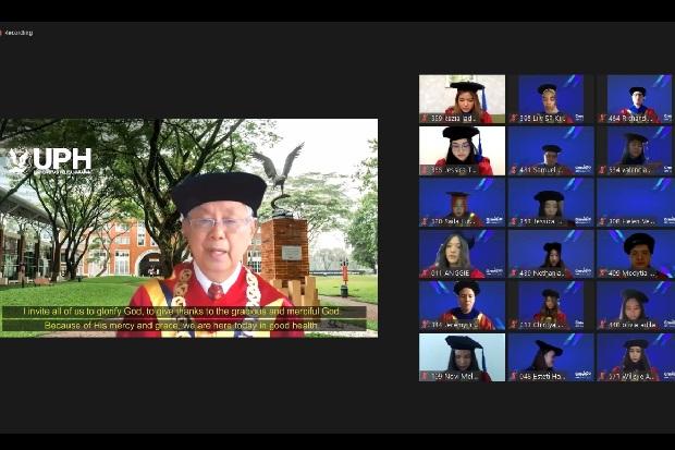 Rektor: Wisudawan UPH Sebagai Agent of Transformation di Dunia Nyata