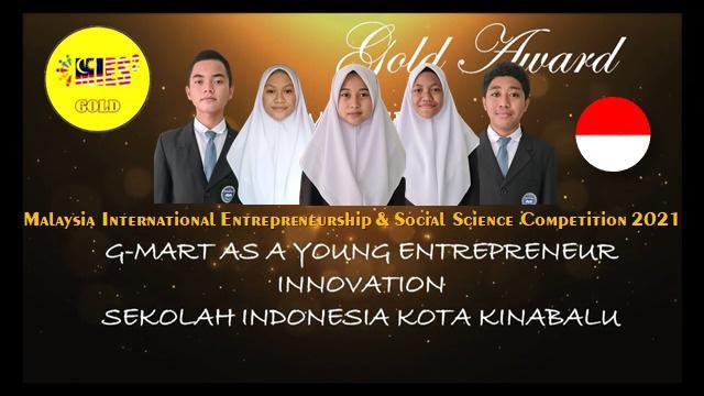 Lagi, Sekolah Indonesia Kota Kinabalu Sabet Emas di Malaysia