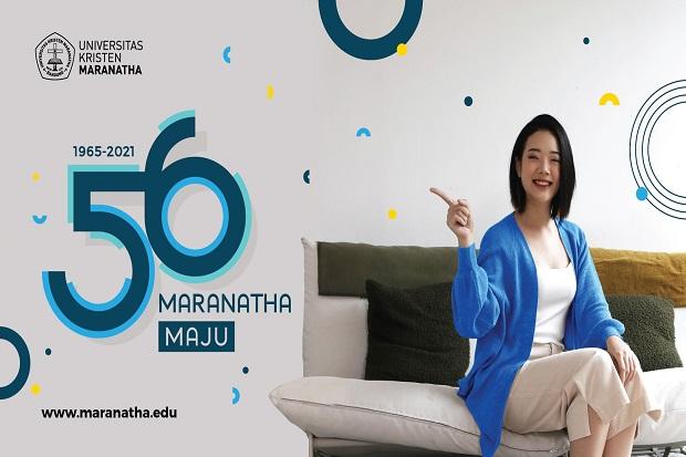 Rayakan HUT ke-56, UK Maranatha Siap Maju dengan Hybrid Learning