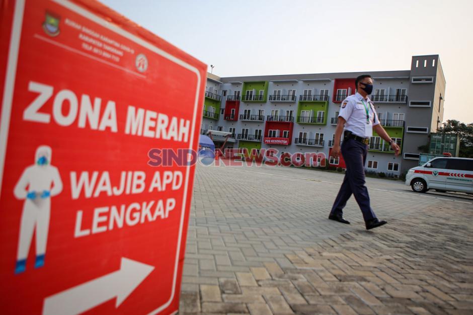Kasus Menurun, Pemkab Tangerang Akan Tutup Rumah Karantina Covid-19-1