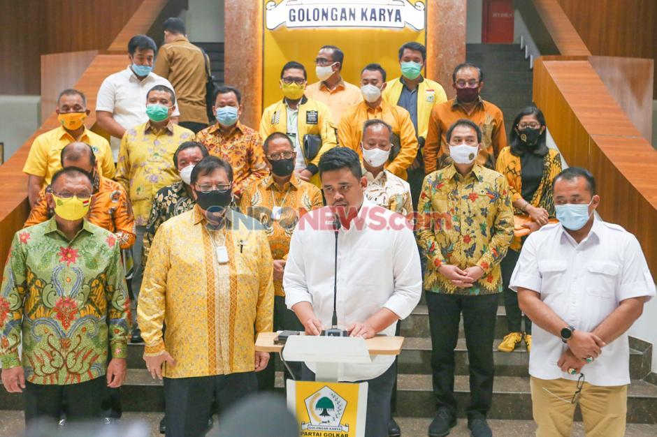 Partai Golkar Dukung Pasangan Bobby Nasution-Aulia Rahman di Pilkada Medan-1