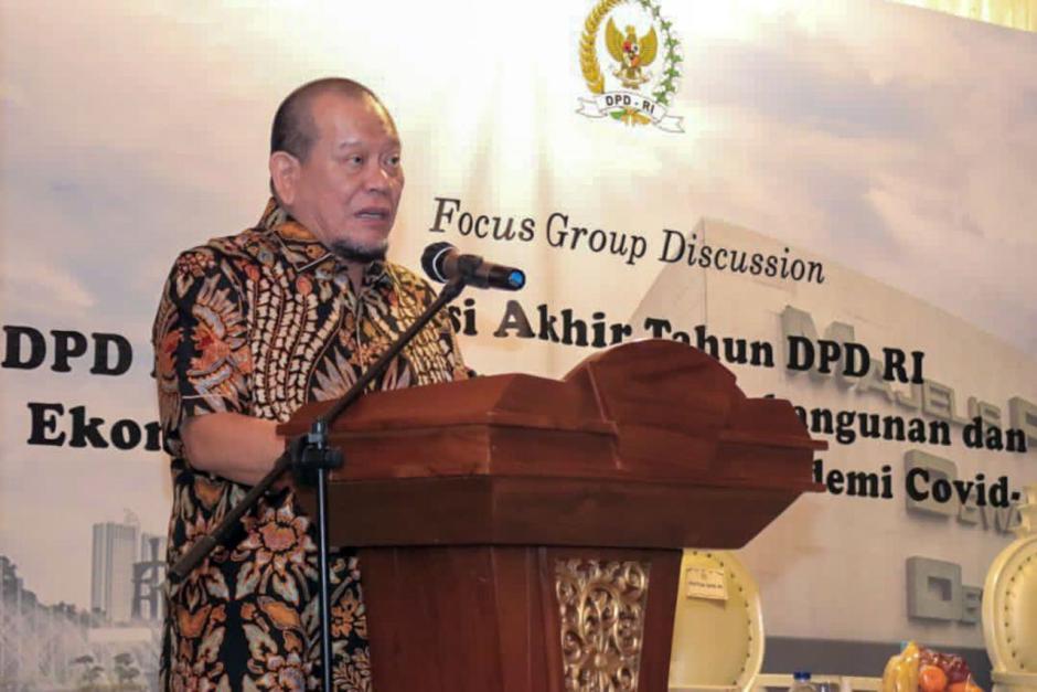 Refleksi Akhir Tahun, Ketua DPD Ajak Senator Terus Kawal Aspirasi Masyarakat-2