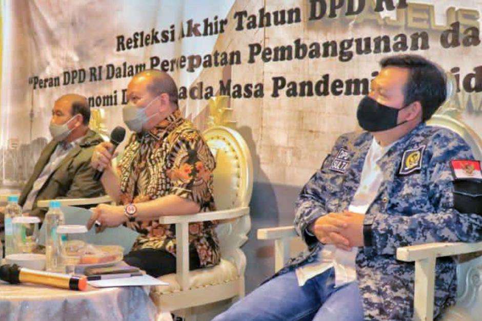 Refleksi Akhir Tahun, Ketua DPD Ajak Senator Terus Kawal Aspirasi Masyarakat-1