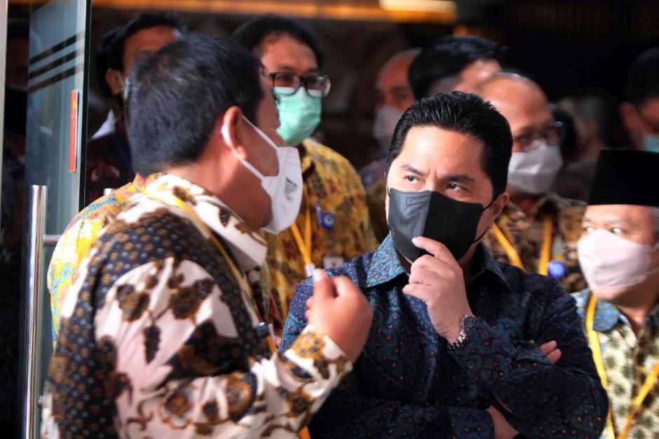 Erick Thohir Tandatangani Kerja Sama Pemberantasan Korupsi dengan KPK-2