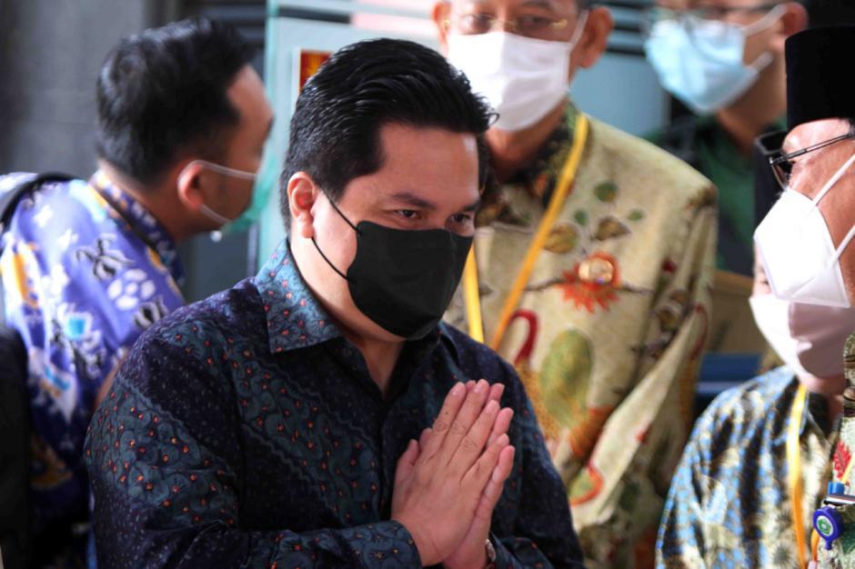 Erick Thohir Tandatangani Kerja Sama Pemberantasan Korupsi dengan KPK-3