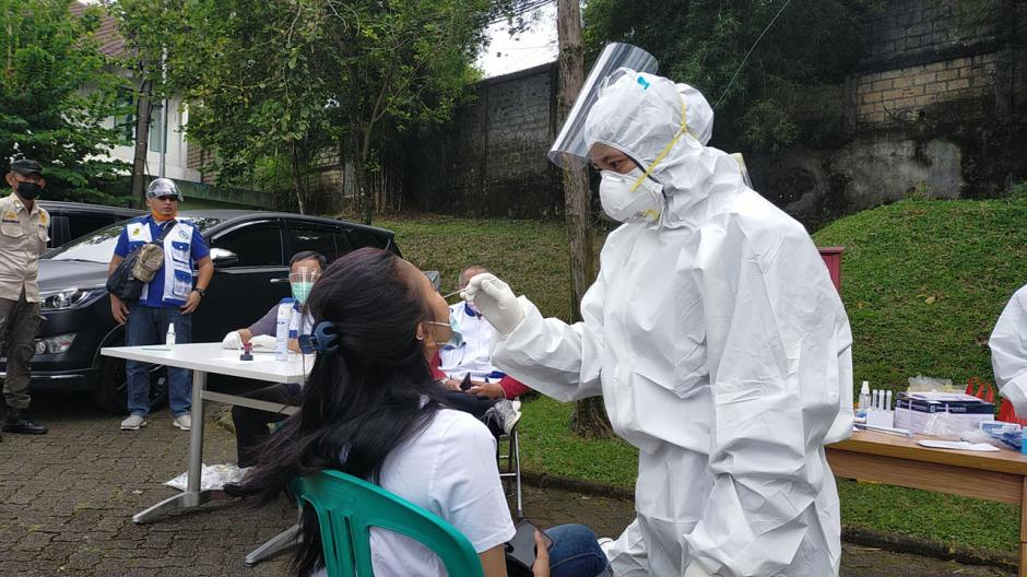 Pengunjung Kawasan Puncak Kembali Diminta Tunjukan Surat Rapid Antigen-2