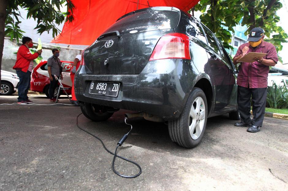 Pemilik Kendaraan Antusias Ikuti Uji Emisi Gratis-0