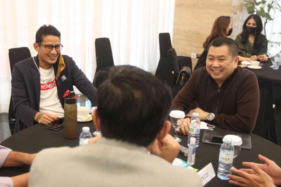Dukung Kreator Konten, Menparekraf Sandiaga Uno Hadiri TikTok Awards 2020-2
