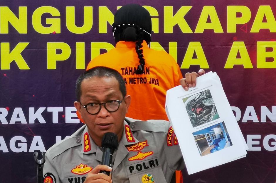 Ditreskrimsus Polda Metro Jaya Bongkar Praktik Aborsi Ilegal di Bekasi-4