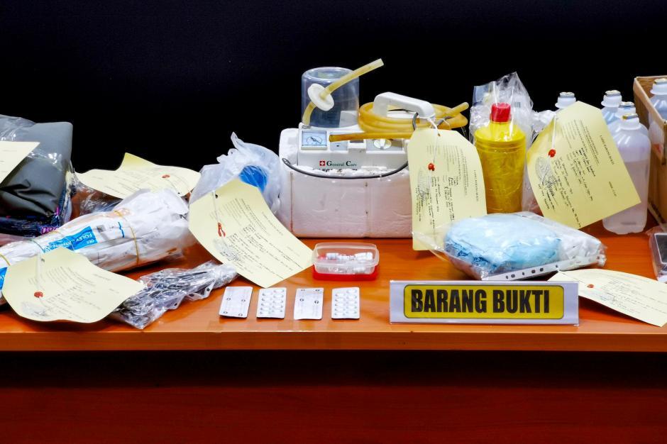 Ditreskrimsus Polda Metro Jaya Bongkar Praktik Aborsi Ilegal di Bekasi-3
