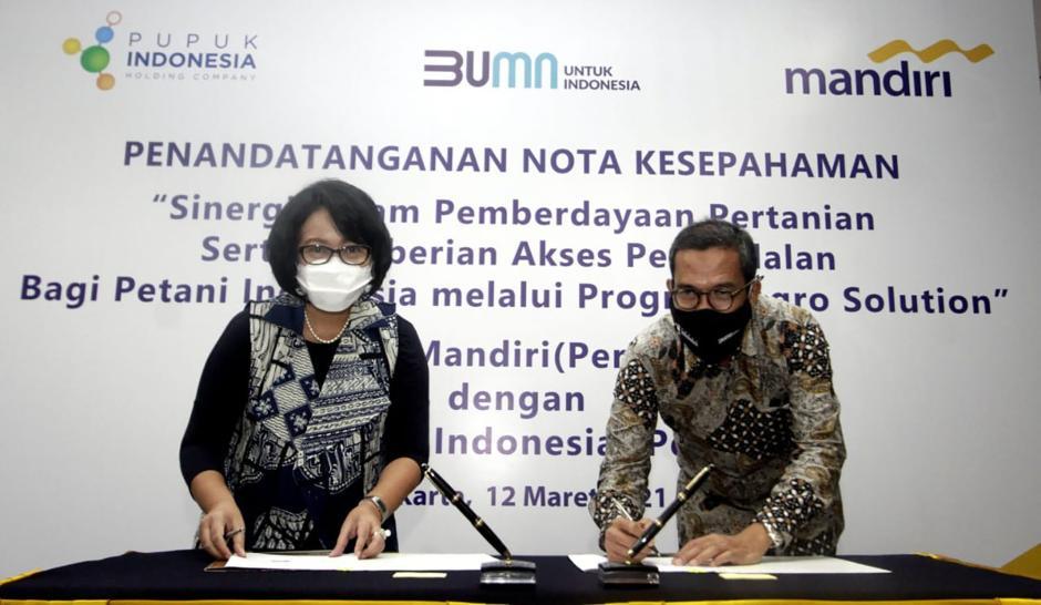 Sinergi Bank Mandiri dan Pupuk Indonesia-0