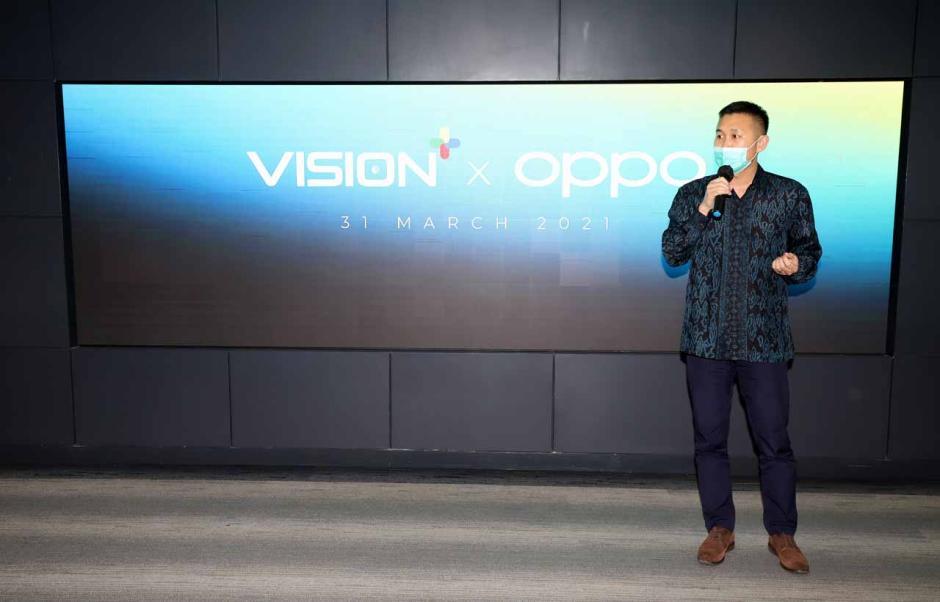 OPPO Gandeng Vision+ Hadirkan Konten Menarik dan Berkualitas-1