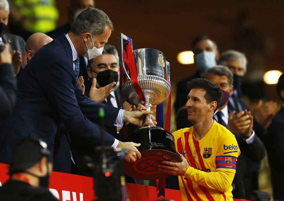 Hancurkan Athletic Bilbao 4-0, Barcelona Juarai Copa del Rey-0