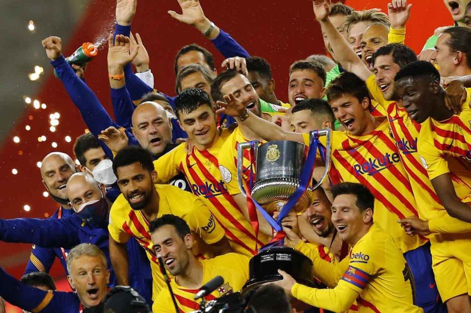 Hancurkan Athletic Bilbao 4-0, Barcelona Juarai Copa del Rey-4