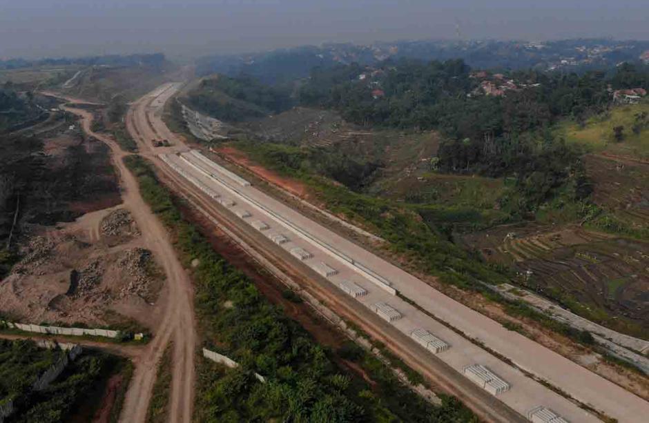 Progres Proyek Tol Cisumdawu di Jatinangor-2